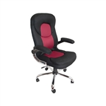 ALEKO ALC2879RD High Back  Red Office Chair