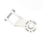 ALEKO® Support Bracket for Gearbox for Retractable Awning - White Color