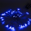 ALEKO 50 LED 19.5 Foot Battery Operated Blue Lights