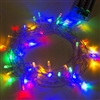 ALEKO 50 LED 19.5 Foot Battery Operated Multi Color Lights