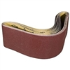 "4"" x 36"" 240 GRIT Abrasive Belt with Cotton Fiber Backing"