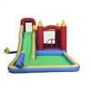 Inflatable Playtime 6-In-1 Bounce House with Slide, Splash Pool, and Ball Pit - ALEKO