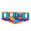 Inflatable Playtime Bounce House with Pool and Slide - ALEKO
