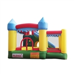 Large Castle Bouncy Playhouse with UL Blower