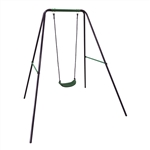 ALEKO BSW01 Sturdy Outdoor Child Swing Chair, Blue
