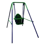 ALEKO  BSW02 Indoor Outdoor Portable Folding Toddler Baby Swing Chair, Blue