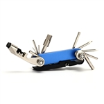 Multi-Functional Bicycle Tool - 1 x 3.5 - Blue - ALEKO