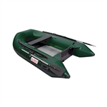 Inflatable Boat with Aluminum Floor - BT250 - 8.4 ft - Dark Green - ALEKO