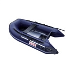 Inflatable Boat with Aluminum Floor - BT250 - 8.4 ft - Blue - ALEKO