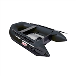 Inflatable Boat with Aluminum Floor - BT250 - 8.4 ft - Black - ALEKO