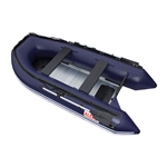 Inflatable Boat with Aluminum Floor - BT320 - 10.5 ft - Blue - ALEKO