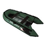Inflatable Boat with Aluminum Floor - BT320 - 10.5 ft - Dark Green - ALEKO