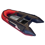 ALEKO® BT380RBK 12.5ft Inflatable Boat with Aluminum Floor