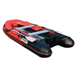 ALEKO® BT420RBK Inflatable 13.8 ft Boat with Aluminum Floor