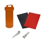 ALEKO® BTRKITR Complete Essentials Inflatable Boat Repair Kit, Red