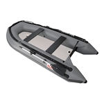 Inflatable Boat with Air Deck Floor - 10.5 Ft - Gray - ALEKO