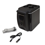 ALEKO CARFR6BK Mini Car  Compact Fridge, Black Color