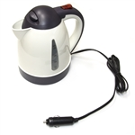 ALEKO CARKT12V Portable Travel Hot Pot Electric Car Kettle 12V DC