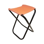 ALEKO CS02OR Foldable Camping Chair or Stool for Fishing, Orange