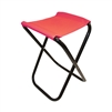 ALEKO CS02RD Foldable Camping Chair or Stool for Fishing, Red