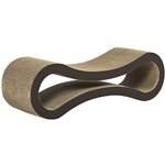 Cat Scratcher Lounge - Brown - Large