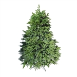 Premium Artificial Holiday Pre-Lit Christmas Tree - 6 Foot - ALEKO