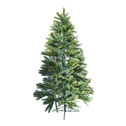 Premium Artificial Holiday Christmas Tree - 6 Foot - Green - ALEKO