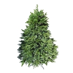 Pre-Lit Artificial Holiday Christmas Tree - 7 Foot - Green - ALEKO