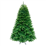 Ultra Lush Traditional Lifelike Artificial Indoor Christmas Holiday Tree - 7 Foot - ALEKO