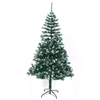ALEKO® CTPC71H17 Luscious Artificial Indoor 6 Feet (1.8 m) Christmas Holiday Pine Tree With White Tips and Decorative  Pine Cones
