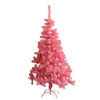 Artificial Indoor Christmas Holiday Tree - 5 Foot - Light Pink - ALEKO