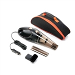 Durable Handheld Car Vacuum - 12V - Black and Gray - ALEKO