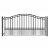 ALEKO® PARIS Style Single Swing Steel Driveway Gate 12'