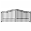 ALEKO® LONDON Style Swing Dual Steel Driveway Gates 18'