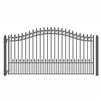 ALEKO® PRAGUE Style Single Swing Steel Driveway Gate 18'