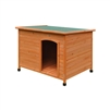 DH46X31X31WD Large Weatherproof Pine Pet Dog Kennel Shelter with Elevated Floor 46 X 31 X 31 Inches (1.2 X 0.8 X 0.8 m)