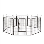 ALEKO DK32X32 Heavy Duty 8 Panel Dog Kennel