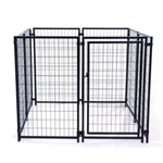ALEKO® Dog Kennel 1.5 x 1.5 x 1.2 Heavy Duty Pet Playpen Dog Exercise Pen Cat Fence, Run for Chicken Coop, Hens House