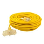 ALEKO  ECOI12G3O100FT ETL Heavy Duty 100 Foot (30.5 m) Extension Cord, Yellow