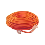 ALEKO  ECOI143G100FT ETL Heavy Duty 100 Foot Extension Cord SJTW Lighted Plug 14/3 Gauge, Orange