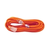 ALEKO  ECOI143G25FT ETL Heavy Duty 25 Foot Extension Cord SJTW Lighted Plug 14/3 Gauge, Orange