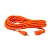 ALEKO  ECOI163G25FT ETL Heavy Duty 25 Foot (7.6 m) Extension Cord SJTW Plug 16/3 Gauge, Orange