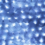 ALEKO® EL-N150W 150 LED White Net Mesh Fairy String Light Christmas Lights Lighting Party Wedding Xmas Tree-wrap
