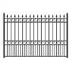 ALEKO® LONDON Steel Fence 8' x 5'