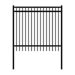 DIY Steel Iron Wrought High Quality Fence - Nice Style - 6 x 6 Feet - ALEKO