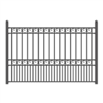 ALEKO® PARIS Steel Fence 8' X 5'