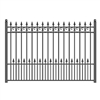 ALEKO® PRAGUE Steel Fence 8' x 5'