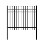 DIY Steel Iron Wrought High Quality Ornamental Fence - Rome Style - 6 x 5 Feet
