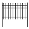 DIY Steel Iron Wrought High Quality Ornamental Fence - Rome Style - 6 x 6 Feet