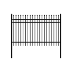 DIY Steel Iron Wrought High Quality Ornamental Fence - Rome Style - 8 x 6 Feet